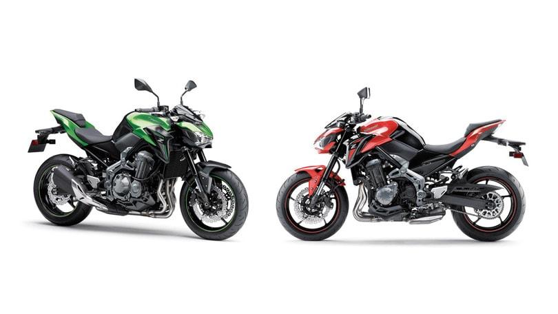 La Kawasaki Z900 anche per i neopatentati
