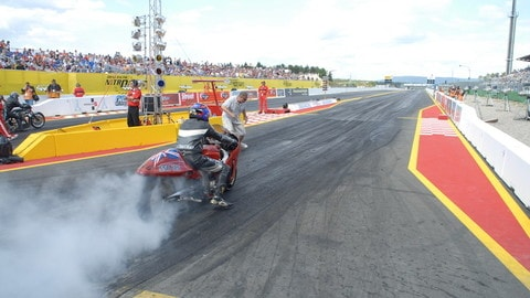 Drag-Racing, il burnout: foto