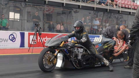 Procedure di partenza Drag-racing, foto