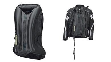 Held e la giacca tecnologica Clip-In Air Vest