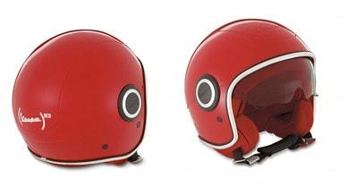 Gli accessori Vespa si colorano di RED