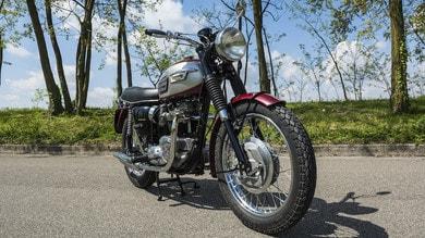 La Triumph Bonneville T 120 del 1970