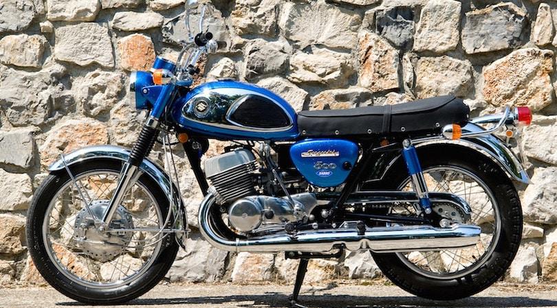 Suzuki T500 Cobra, l'ammiraglia