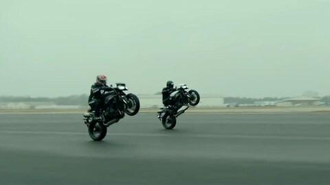 Nuove Triumph Speed Triple, la sfida - VIDEO