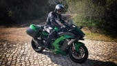 Prova Kawasaki Ninja H2 SX SE: primo contatto