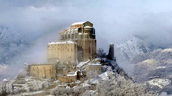 Itinerario 'moto e neve' in Piemonte