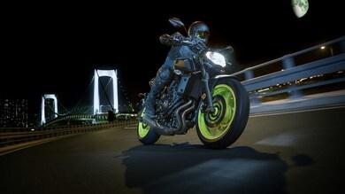 Yamaha MT-07 2018, svelato il prezzo