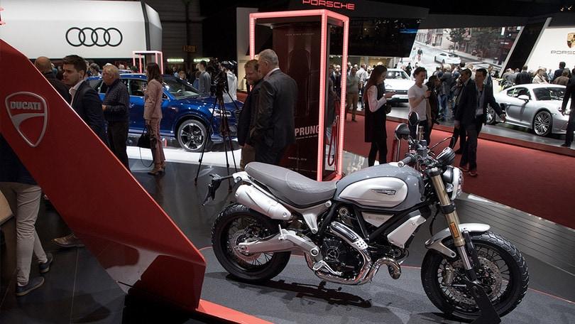 Scrambler Ducati al Salone dell'auto di Ginevra