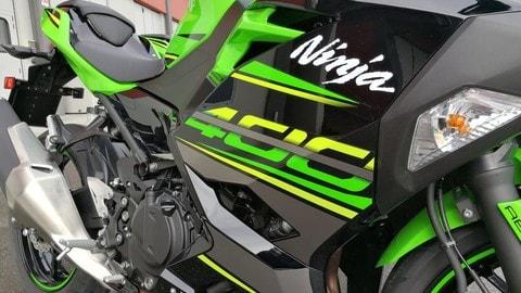 Primo contatto Kawasaki Ninja 400 - LE FOTO