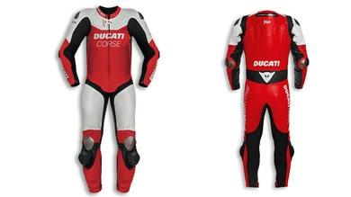 La tuta Ducati Corse ha anche l'airbag