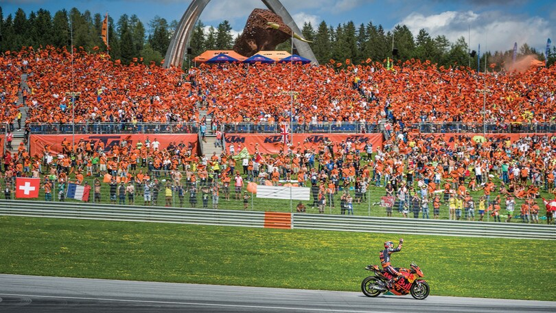 La MotoGP al Mugello con KTM