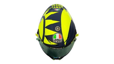 "AGV ""Soleluna"" per il casco di Rossi"