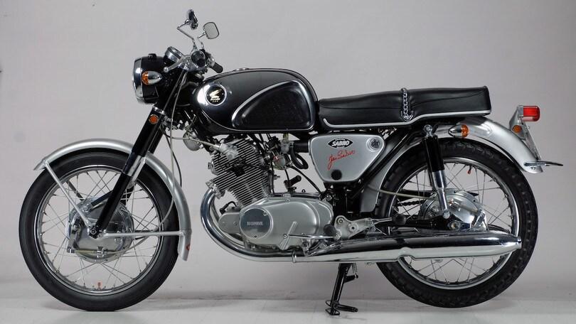 Honda 250 CB 72 SS, il falco!