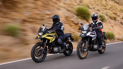 Tutte nuove le Adventure medie di BMW