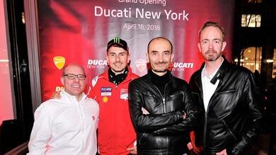 Ducati approda a Manhattan
