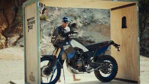 Nuova Yamaha Ténéré 700 in azione - VIDEO