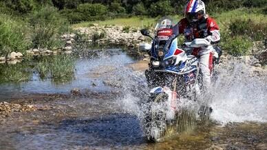 Sardegna Grand Tour 2018 con l'Africa Twin Adventure-Sports