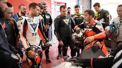 Racers Days Aprilia con Capirossi