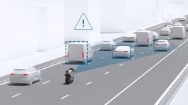Il radar sarà di serie su Ducati e KTM