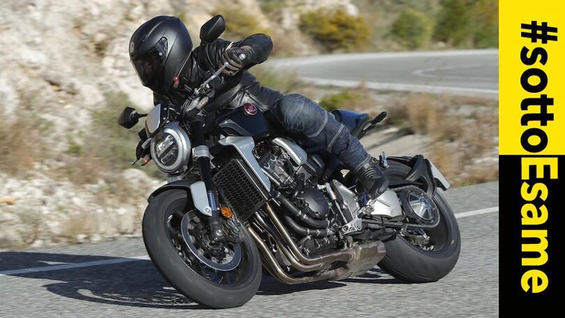 Video-Test Honda CB1000R: #SottoEsame