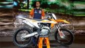 KTM: Ryan Dungey tiene a battesimo la nuova SX