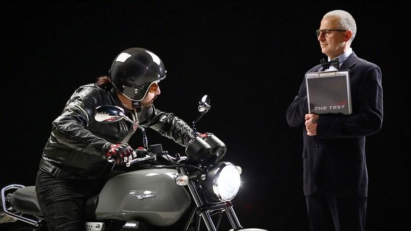 Motosprint The Test di Riccardo Piergentili: Moto Guzzi V7 III