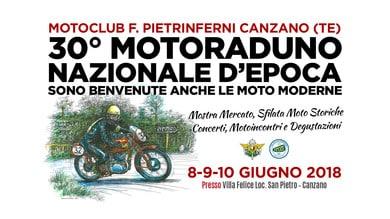30° Motoraduno Nazionale D'Epoca a Canzano