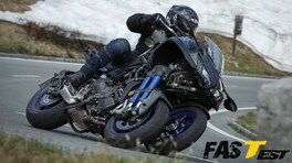 VIDEO-TEST Yamaha Niken, (T)rivoluzione totale