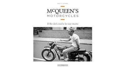 Un libro racconta la passione per le moto di Steve McQueen
