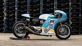 Mellow Motorcycle Triumph Thruxton 'Phantom Blaze'
