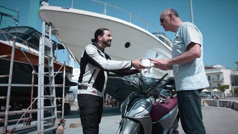 Motosprint The Test di Riccardo Piergentili: Kymco People S 150i ABS