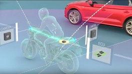 Ride Vision, la tecnologia che prevede le collisioni tra auto e moto
