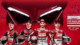 WDW 2018: i campioni Ducati si sfidano con la Panigale V4