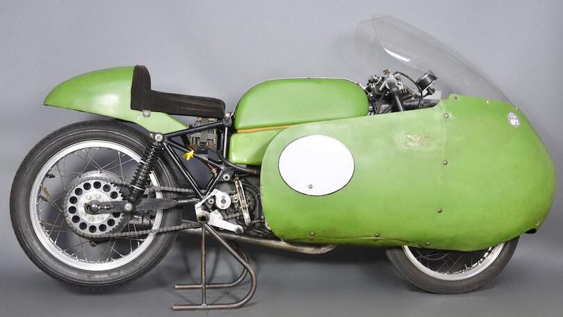 Moto Guzzi 350 Bialbero, scuola italiana