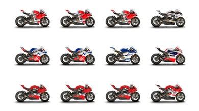 Le Panigale V4 della Race of Champions all'asta su eBay