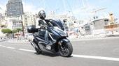 Honda Forza 300: primo contatto