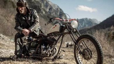 Dalla Carnia a Samarcanda con una Harley del 1939