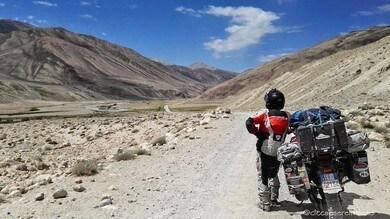 Dall'Asia centrale all'Italia, il viaggio in moto del Cicca e la Sere #3