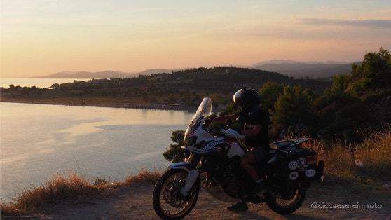 Dall'Asia centrale all'Italia, il viaggio in moto del Cicca e la Sere #5