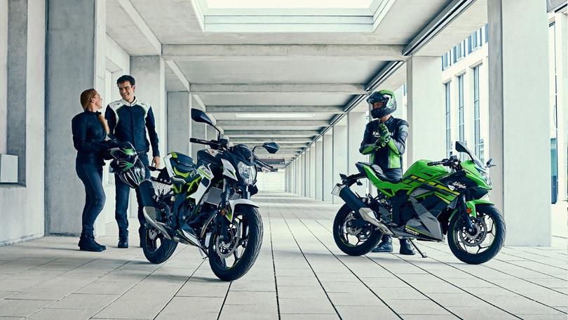 Kawasaki: svelate le nuove Ninja 125 e Z125