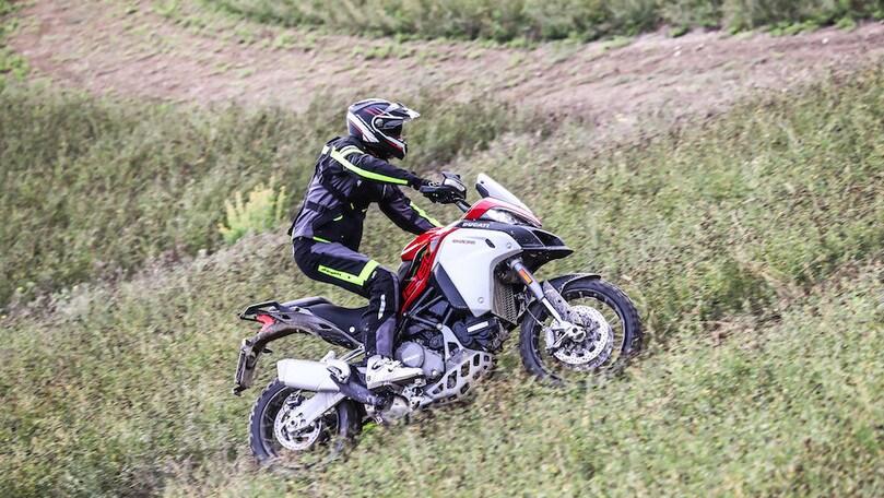 Prova Ducati Multistrada 1260 Enduro: primo contatto