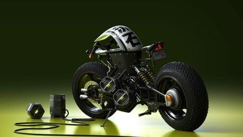 Il concept e-bike di Matt Tkocz - LE FOTO