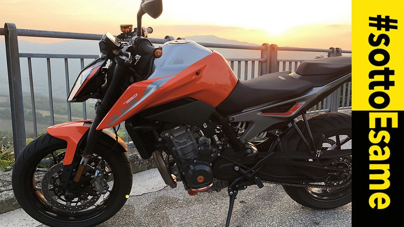 Prova KTM Duke 790: #Sottoesame