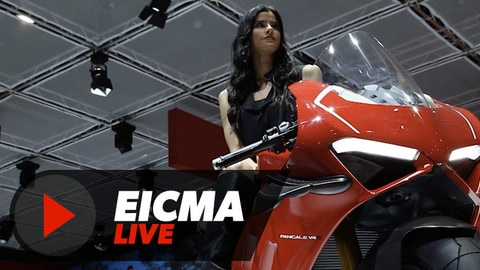 Le più sexy di EICMA 2018 - VIDEO
