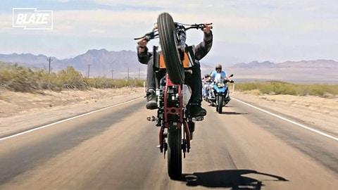 Travis Pastrana spericolato a Las Vegas