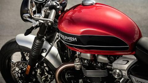 Nuova Triumph Speed Twin - LE FOTO