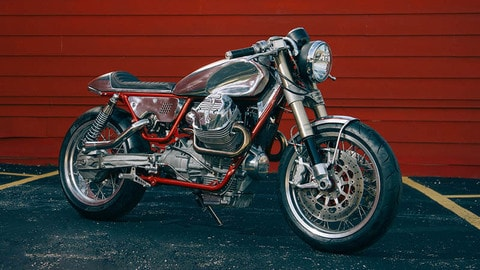 Moto Guzzi V9 Turbo by Craig Rodsmith - LE FOTO