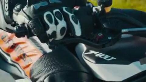 MBE: Reggiani presenta la sua pitbike elettrica