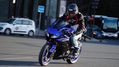 Prova Yamaha YZF-R3 e R125 2019 - LE FOTO
