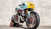 La Ducati Monster 821 diventa una 'Pantah'